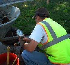 concrete testing service